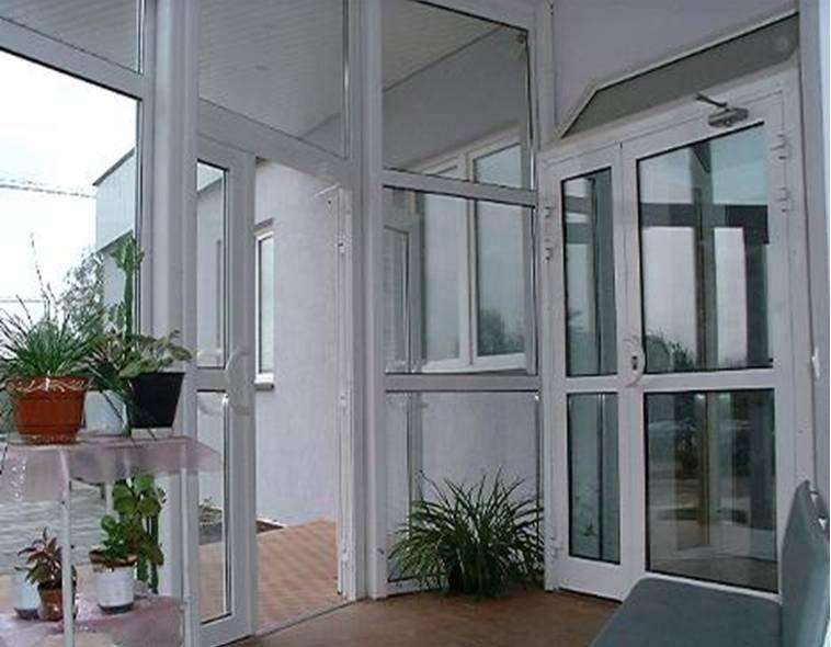 Балконные пластиковые двери харьков gloris group.