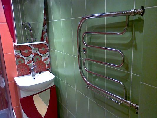 Ванная комната ремонт полотенцесушитель реконструкция ванных комнат