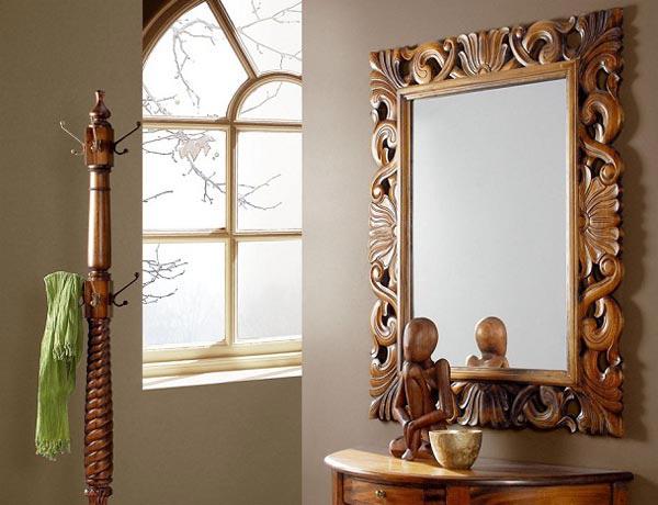 Как своими руками обрамить зеркало в багет своими руками